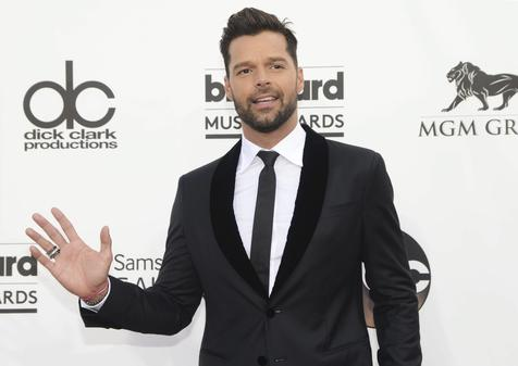 Ricky Martin no Billboard Music Awards 2014