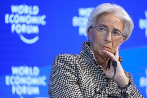 A diretora do FMI, Christine Lagarde