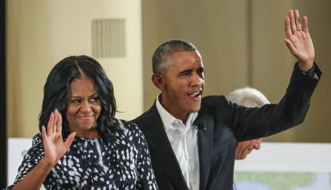 Obama e Michelle condenam Harvey Weinstein por abusos