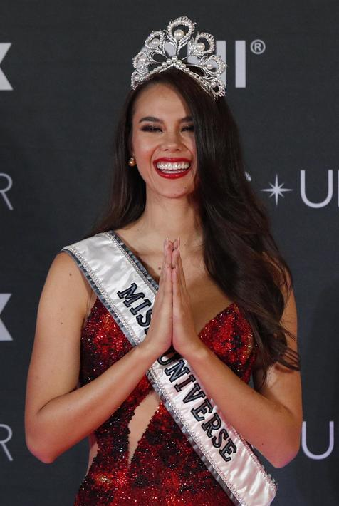 Filipina Catriona Gray vence Miss Universo 2018