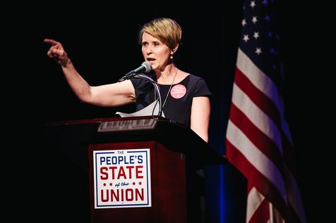 Cynthia Nixon, de 'Sex and the City', disputará governo de NY