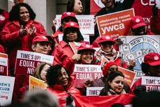 Equal Pay Day em Nova York